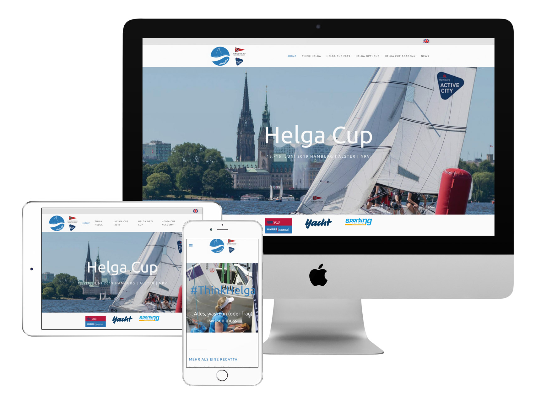 Website Helga Cup