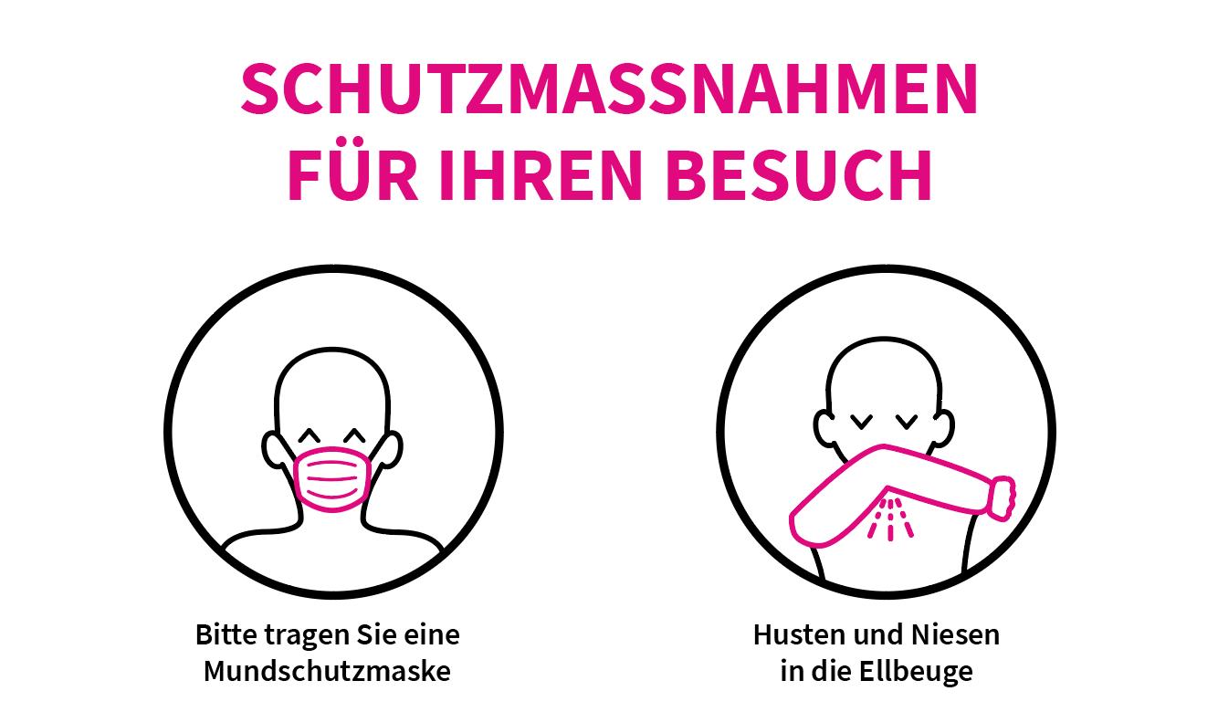 Plakat Schutzmaßnahmen