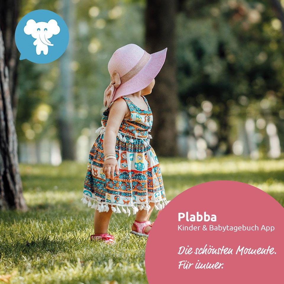 Plabba Baby- und Kindertagebuch-App